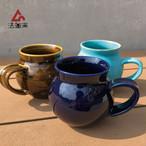 法皇窯 高橋直樹 砥部焼 口広型マグカップ 小 コップ 陶器