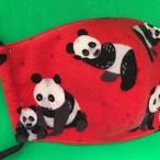 レディースファッションマスク  親子パンダ  1