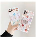 【オーダー商品】グリップ付き  Bear Rabbit Phone Case