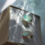 Color quartz イヤリング