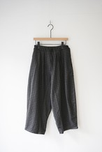 BALL PANTS wool check/ OF-P011C