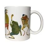 マグカップ カエルの楽団