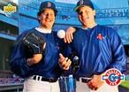 MLBカード 93UPPERDECK Frank Viola & Roger Clemens #48 RED SOX TEAMMATE