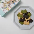 【おためし価格】ねこねこバタークッキー(プレーン・抹茶・ブラックココア) 3箱【送料・税込】