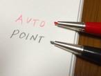 【 入荷分限定 】AUTOPOINT ツインポイントシャープペンシル0,9mm / ブラックバレル