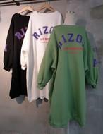 アリゾナバルーン起毛ワンピース ワンピース ロングワンピース 韓国ファッション