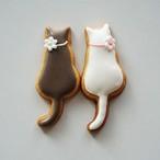 Deux chats(二匹の猫)アイシングクッキー