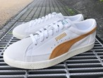 PUMA BASKET 90680 L (PUMA WHITE-BUCKTHORN BROWN)