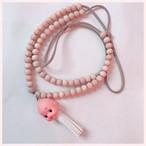 カーテンまとめ数珠キューピー(セット)白