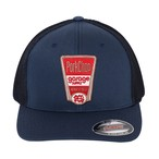 FINEST TRUCKER MESH CAP/NAVY