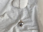 〈vintage silver925〉heart motif necklace
