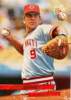 MLBカード 93FLEER Joe Oliver #032 REDS