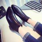 【shoes】ポインテッドトゥ簡約スタイル売れ筋ブーツ 23185405
