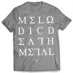 """Alphoenix """"MDM II"""" GRAY T-Shirt"""