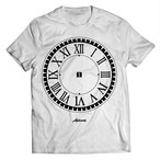 "Alphoenix ""Timegears"" WHITE T-Shirt"