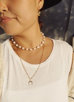 Baroque Pearl Necklace バロックパールネックレス