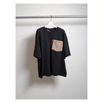 Special Remake Carhartt × BURBERRY Pocket T-shirt Black L
