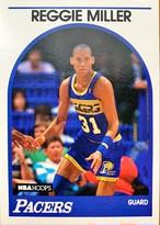 NBAカード 89-90NBAHOOPS Reggie Miller #29 PACERS