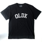 College logo T-shirts BLACK