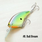 "BRISKY LURES  /  "" Natalie "" / #8. Bull Bream"