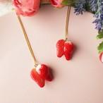 ストロベリーフェア❤カット苺のネックレス