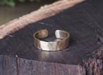 真鍮の槌目リング(5mm)