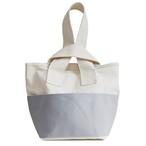 CLOUCHY SHOULDER BAG (キナリ×ライトグレー)