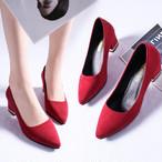 【shoes】パンプスノームコア2色無地