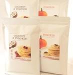 【各種2袋】無糖ココナッツパンケーキミックス&パンプキンパンケーキミックス