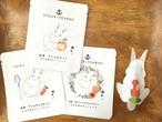 紅茶セット 白うさぎのティーバッグ アールグレイ アップルティー アプリコットティー 3p入