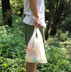 レジ袋風エコバッグ「小包レジバッグ」(コーデュラリップ使用)