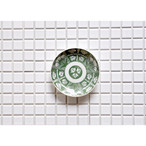 【印判小皿 - 朝顔 - 】 アンティーク