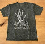 hs-36 ATHLETICS 『FUTURE』 T-SHIRT ・ダークグレー