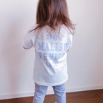 【予約:5月中旬発送】★Kids★ SURF. Tee - Vanilla white
