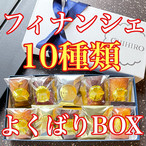 10種類フィナンシェ食べ比べ!よくばりフィナンシェBOX(10個)