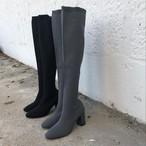 メッシュニットブーツ ブーツ ロングブーツ 韓国ファッション