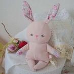 涙目ウサギ ピンク
