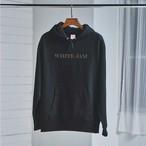 【5月発売】WHITE JAM hoodie (Black)