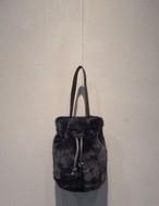 ファーバケットバッグ ハンドバッグ ショルダーバッグ 韓国ファッション