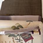 【N様ご予約品】正絹 伊賀組みひも 平組の帯締め 深滅紫