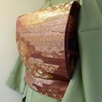 正絹 鳶色の袋帯