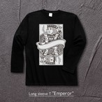 """Emperor"" Long Sleeve T Crew Neck(バックプリント無)"