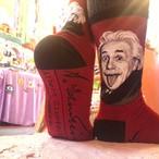 Einstein Portrait (アインシュタイン) - SockSmith(ソックスミス)