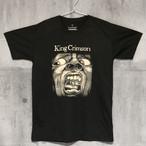 【送料無料 / ロック バンド Tシャツ】 KING CRIMSON / In The Court Of The Crimson King - Mono Men's T-shirts M キング・クリムゾン / クリムゾン・キングの宮殿 - モノクロ メンズ Tシャツ M
