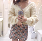 【即日発送】BURBERRY CHECK SKIRT