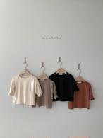 【予約販売】macaron T-shirt〈monbebe〉