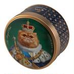 【インポート商品】リチャード 「ザ・ロイヤル・ドッグス&キャッツ 」セイロン紅茶缶30g(キャッツ柄/ペルシャ猫)
