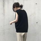 Liyoca コクーンニットプルオーバー(E2702-blk)【セール】