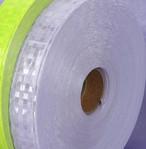 反射テープ 25㎜幅 白 シルバー ビニール 縫製