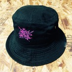 GrooveHAT(BLACK) GROOVE FACTOR Graffiti Logo